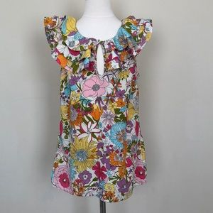 Liberty of London for Target flower print shirt